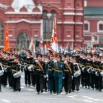 Парад Победы проходит на Красной площади